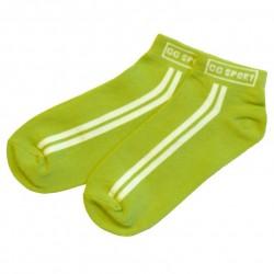 Trumpos sporto ir laisvalaikio kojinės žalia CG Sport