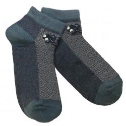 Trumpos sporto ir laisvalaikio kojinės tamsaus džinso Driežiukas
