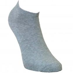 Gumuotais padais trumpos sporto ir laisvalaikio kojinės Šviesiai pilka