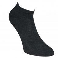 Gumuotais padais trumpos sporto ir laisvalaikio kojinės Tamsiai pilka