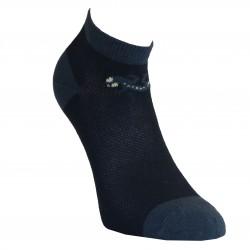 Gumuotais padais trumpos sporto ir laisvalaikio kojinės juodas Driežiukas