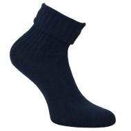 Šiltos vilnonės Ripe rašto kojinės Tamsiai mėlyna
