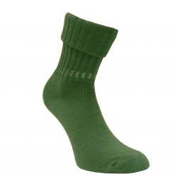 Šiltos vilnonės Ripe rašto kojinės Tamsiai žalia