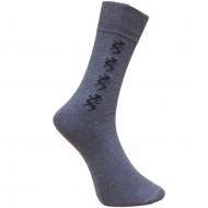 Vyriškos kojinės su rašteliu džinso spalvos Driežai