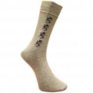 Vyriškos kojinės su rašteliu šviesiai pilki Driežai