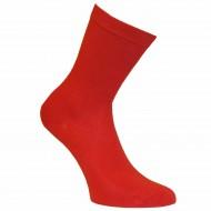 Vyriškos vienspalvės kojinės Raudona