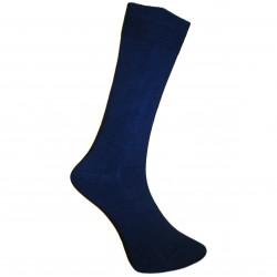 Vyriškos vienspalvės kojinės Tamsiai mėlyna