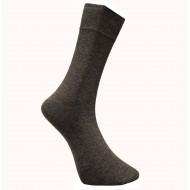 Vyriškos vienspalvės kojinės Tamsiai pilka