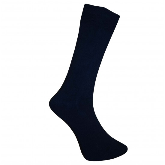 Vyriškos Juodos vienspalvės kojinės Laisva guma