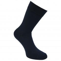 Šiltos plonos Vyriškos 50% Merino vilnos kojinės Tamsiai mėlyna