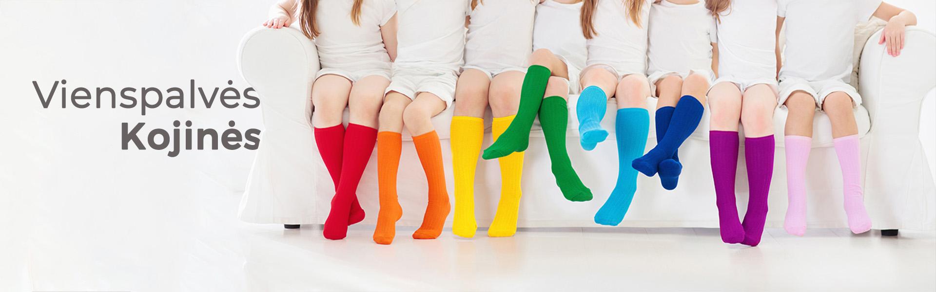 Vegateksa vienspalvės kojinės